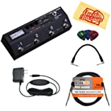 Boss MS-3 Multi Effects Switcher Bundle with Instrument Cable, Patch Cable, Picks, and Austin Bazaar Polishing Cloth (Tamaño: Bundle w/ Cables)