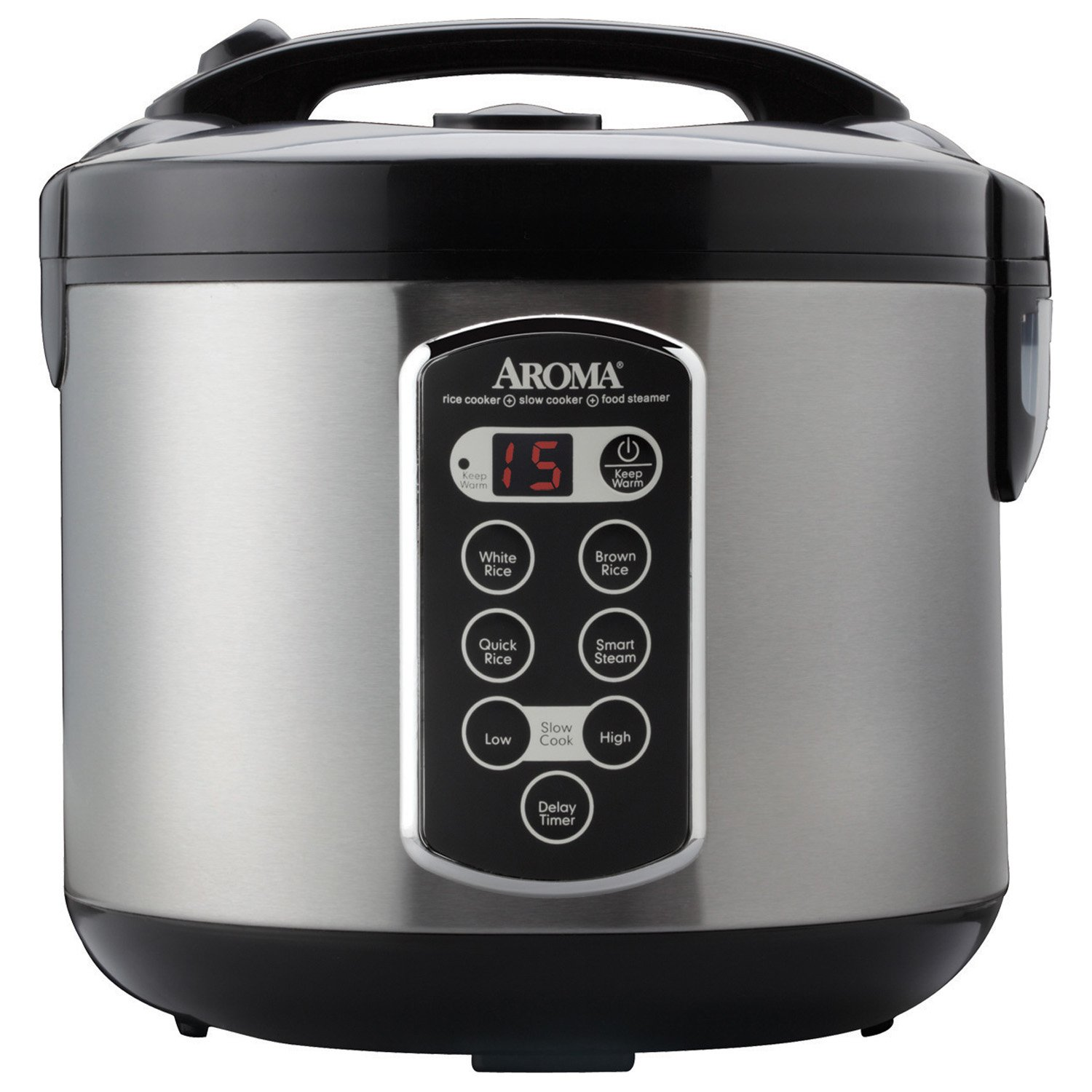 Aroma Professional 20 Cup Cooked Cool Touch Rice Cooker