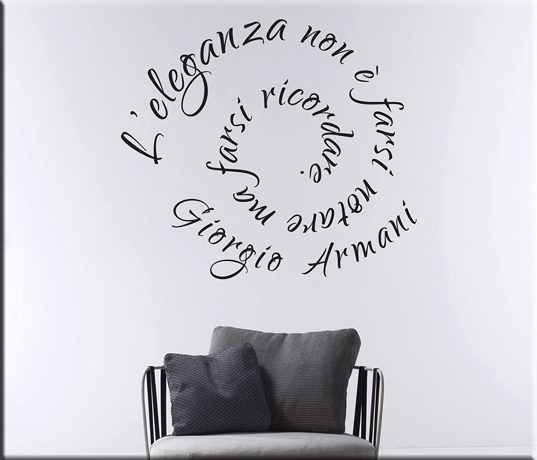 Adesivi murali la nuova moda per scrivere sulle pareti - Scritte muri casa ...
