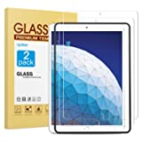 [2 Pack] Screen Protector for iPad Air 3 2019 / iPad Pro 10.5 Inch, apiker Tempered Glass Screen Protector with [Alignment Frame] [Apple Pencil Compatible] (Color: HD Clear)