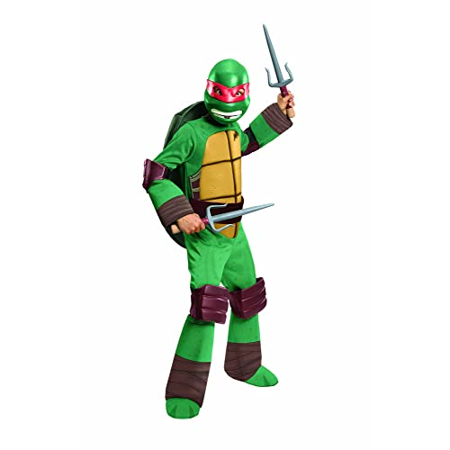 Teenage Mutant Ninja Turtles Deluxe Raphael Costume Small