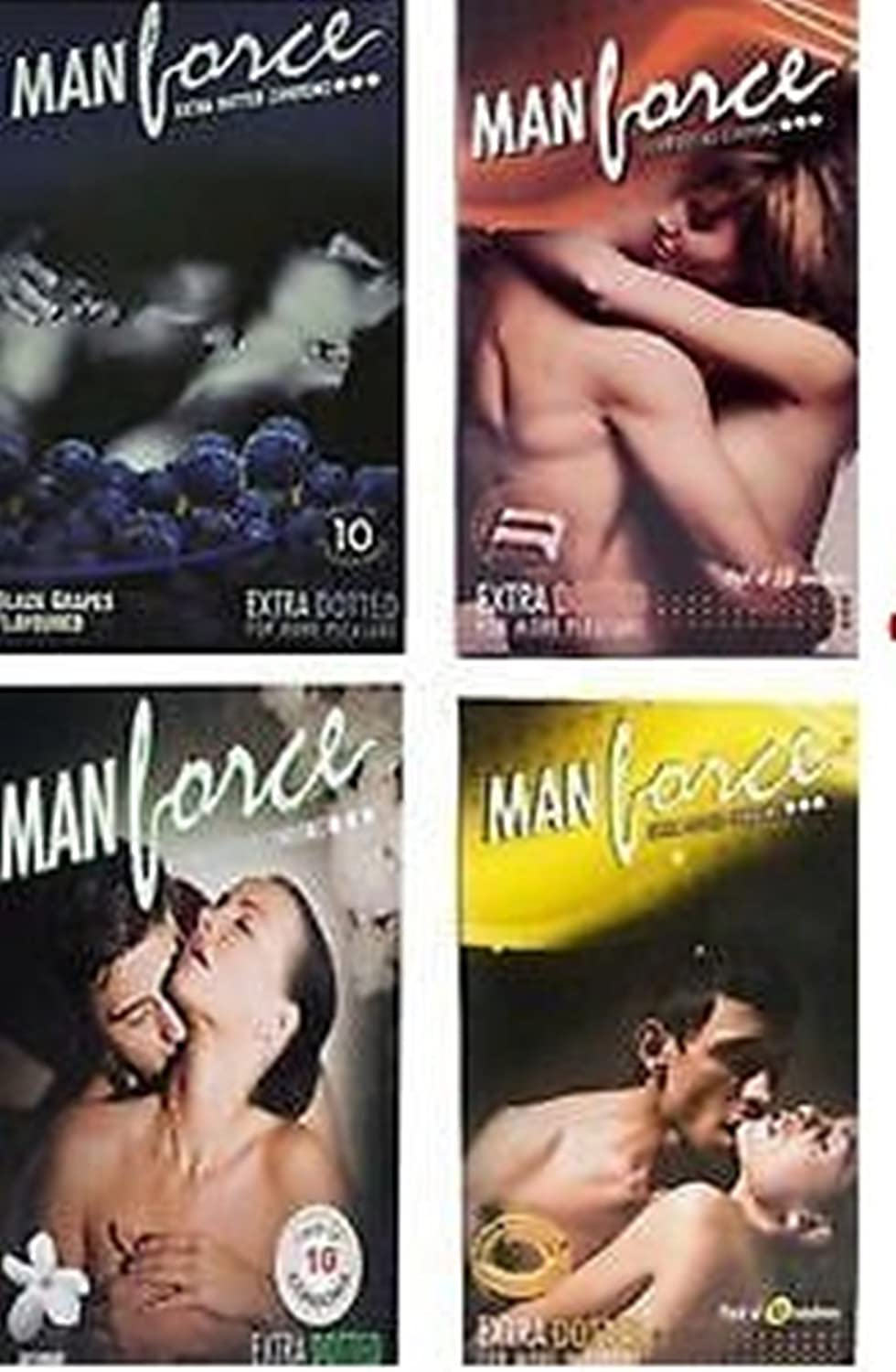 Manforce Condoms Multi Flavoured Combo (40 Piece)