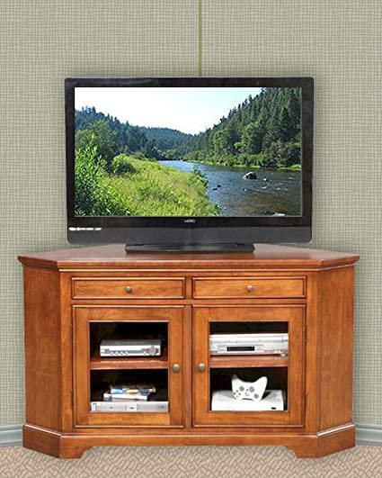 Winners Only Glass Door Corner TV Stand WO-TT155WB
