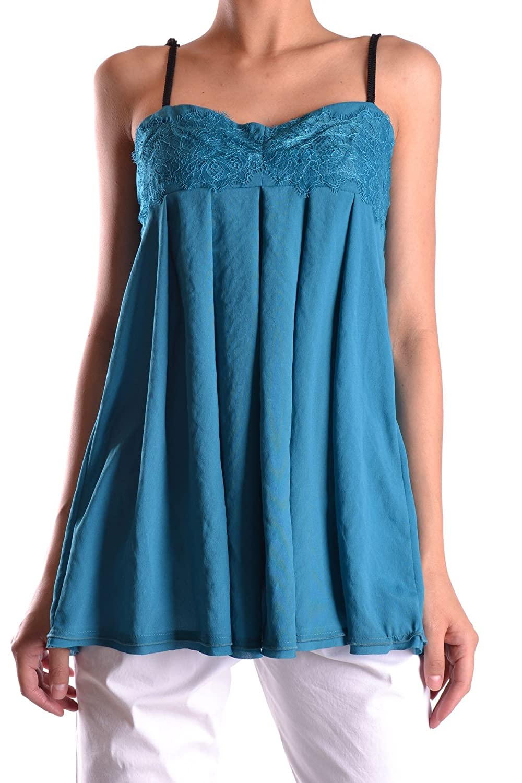 Unterhemd pr1124 Twin-set Simona Barbieri Donna blau günstig kaufen