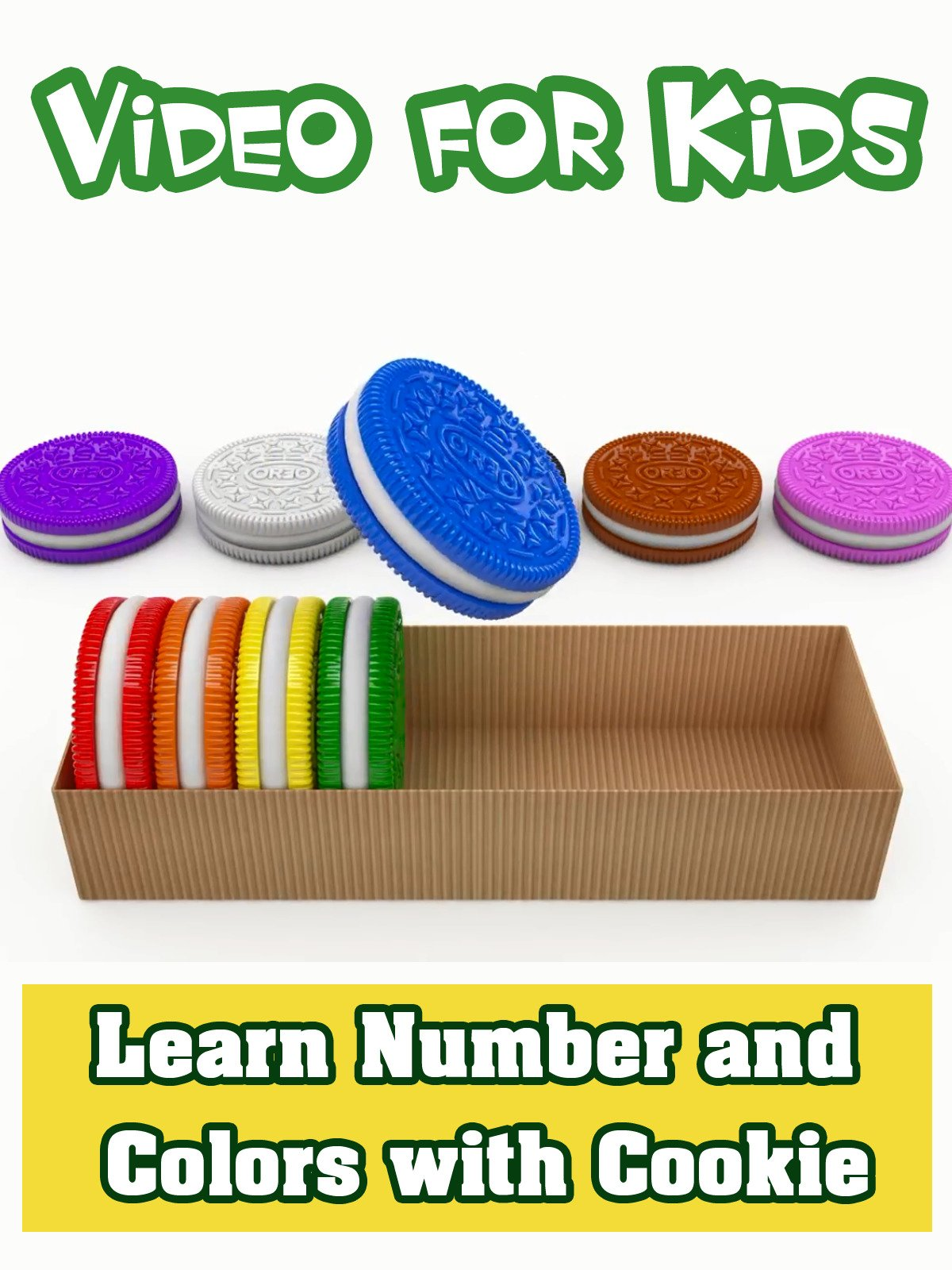 Learn Number and Colors with Cookie