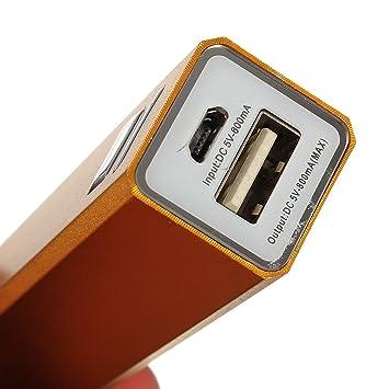 elegiant 2600mah batterie puissance portable portable power bank carres cylindres. Black Bedroom Furniture Sets. Home Design Ideas