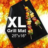 Delamu BBQ Grill Mat, XL Grill Mats Non Stick, 25