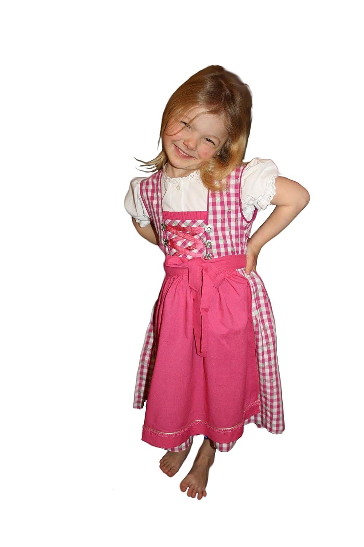 Wiesn Dirndl Paula Trachtenkleid Rosa Pink Kleid Isar Trachten 86 – 164 bestellen