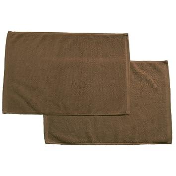ensemble de 2 700 700 monme sleng commercial tapis de de bain de teinture m me couleur brun. Black Bedroom Furniture Sets. Home Design Ideas