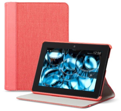 """Belkin Chambray Cover For Kindle Fire Hdx (Will Only Fit Kindle Fire Hdx 7""""), Sorbet"""