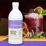 NuNaturals NuStevia Sugar-Free Simple Syrup Natural Stevia Sweetener with 0 Calories, 0 Sugar, 0 Carbs (16 oz) (Tamaño: 16 oz)