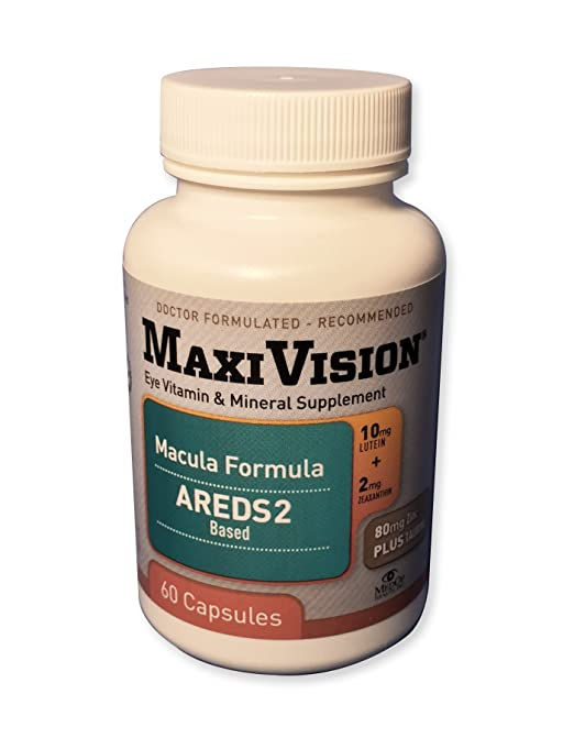 MedOp MaxiVision Macula Formula - 60 Capsules