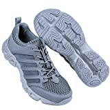 FREE SOLDIER Outdoor Men's Quick Drying Lightweight Sport Hiking Water Shoe(Gray 8) (Color: Gray, Tamaño: 8 D (M) US)