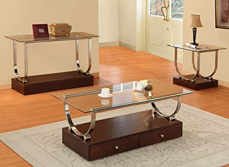Homelegance Quigley Occasionals Coffee Table Set C3305