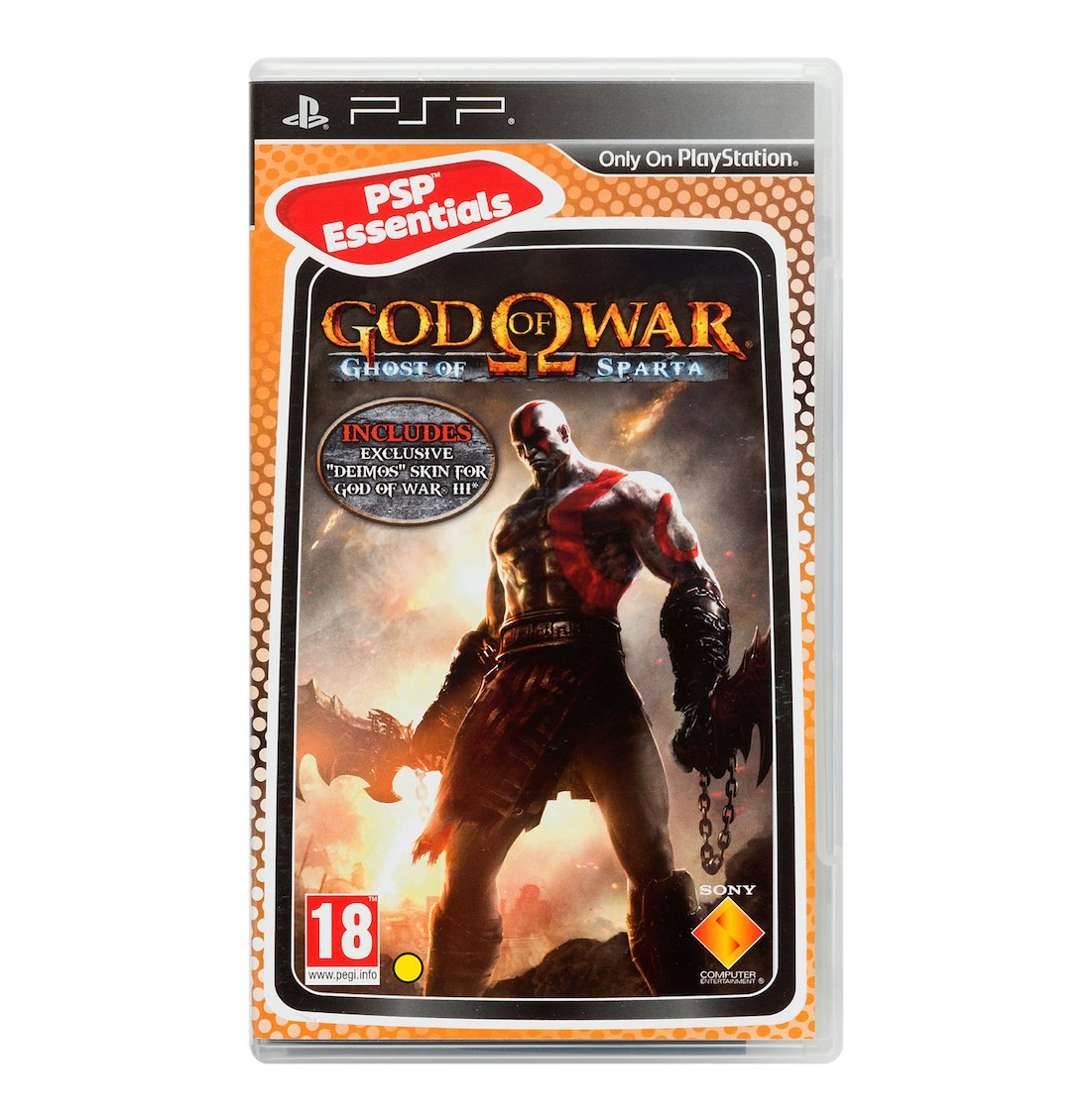 God of War: Ghost of Sparta - Essentials (PSP)