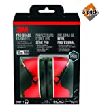 3M 90565-4DC-PS Pro-Grade Earmuff, 3 Pack (Color: 3 Pack)