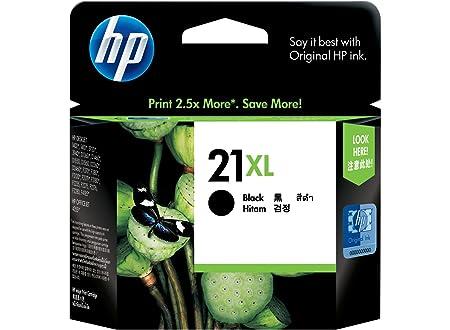 HP 21XL Cartouche d'encre d'origine 1 x noir 475 pages boîtier rigide