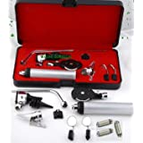 NEW CYNAMED BRANDED 3.2V Bright White LED OTOSCOPE SET + 3 FREE REPLACEMENT BULBS + HARD CASE ( PREMIUM QUALITY ) ALL IN ONE