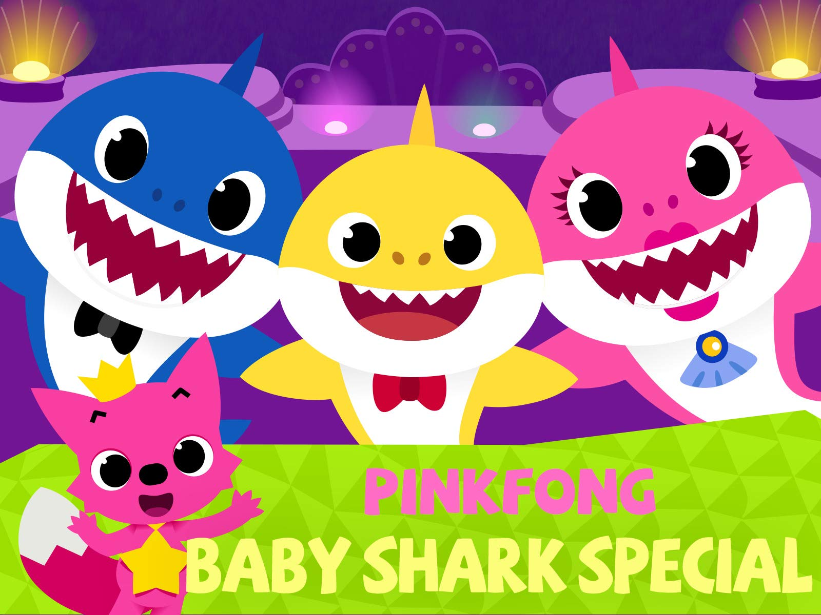 watch  pinkfong  baby shark special  on amazon prime director clipart png director clipart
