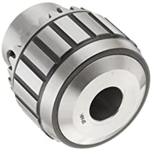 "Llambrich CBB Ball Bearing K32 Keyed Drill Chuck, 2JT Mount, 1-27/32"" Chuck Diameter, 1/32""-3/8"" Capacity"