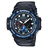 Casio GN-1000B-1AER Mens G-Shock Gulfmaster Tide graph and Moon Age Black Watch (Color: Black)
