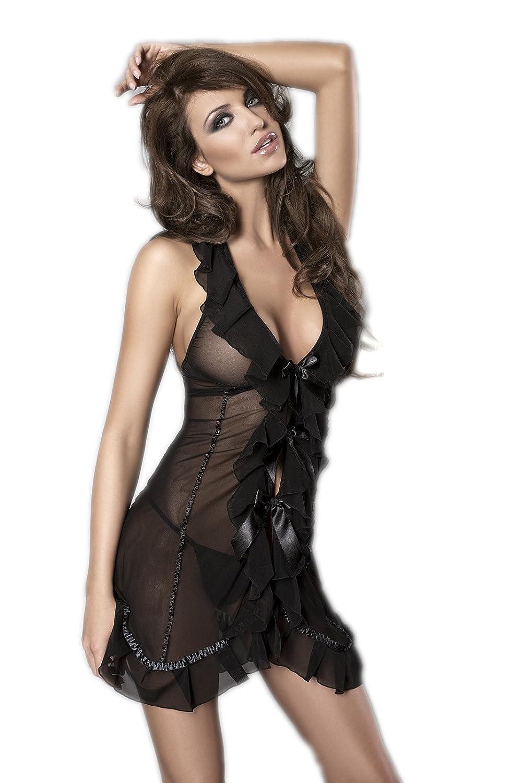 Seduce Me -Hemdchen mit String Schwarz von Anais