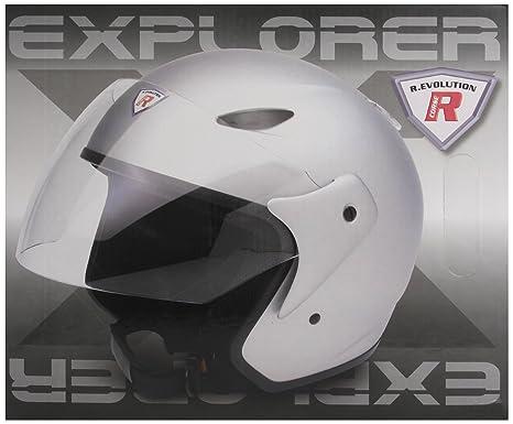 Bottari Moto 64516 Casque Explorer, Gris, Taille : L