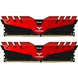 Team T-Force DARK 16GB (2 x 8GB) 288-Pin DDR4 SDRAM DDR4 3000 (PC4 24000) Memory Model TDRED416G3000HC16CDC01