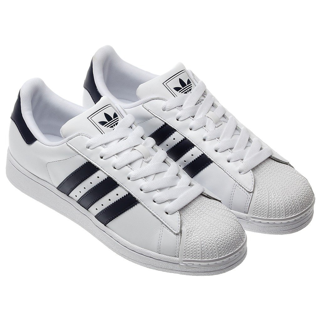 NEW-ADIDAS-SUPERSTAR-2-TRAINERS-MENS-WHITE-BLACK-SPORTS-CASUAL-LEATHER-SHOES