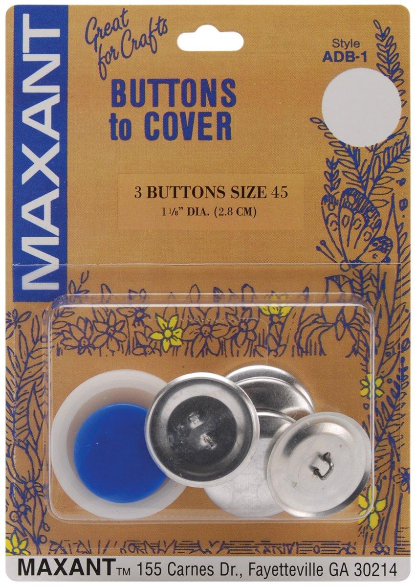 Cover Button Kit-Size 45 1-1/8 3/Pkg   Revisión del cliente y la descripción más