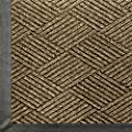 """Andersen 2295 WaterHog Eco Premier Polyester Fiber Entrance Indoor/Outdoor Floor Mat, SBR Rubber Backing, 5' Length x 3' Width, 3/8"""" Thick, Khaki"""