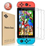 [3 Pack] Nintendo Switch Screen Protector Tempered Glass - Hestia Goods Transparent HD Clear Anti-Scratch Screen Protector for Nintendo Switch (Color: 3-pack)