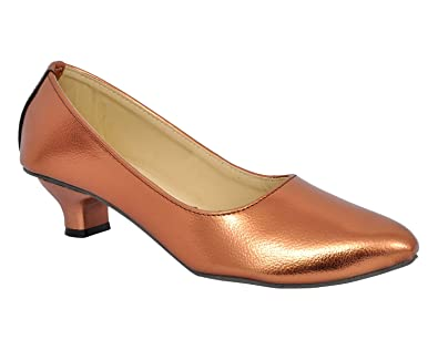 5d89af38f56 Altek Spark Copper Kitten Heel Belly  Buy Online at Low Prices in ...