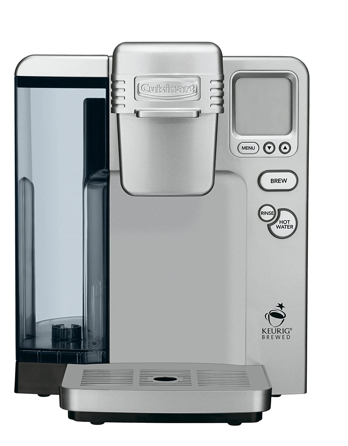 Cuisinart SS-700 Single Serve Brewing System, Silver – Powered by Keurig