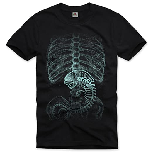 style3 Xenomorph Alien T-Shirt Mens: Amazon.co.uk: Clothing