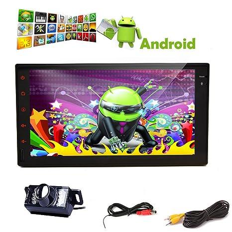Mš²sica libre Cš¢mara 1 Android en el tablero de coches 4,2 pc de la tableta de 7 '' moniteur Capactiive tš¢ctil completa Pantalla 2 din estšŠreo del vehšªculo del GPS Navi radio de coche NO CD