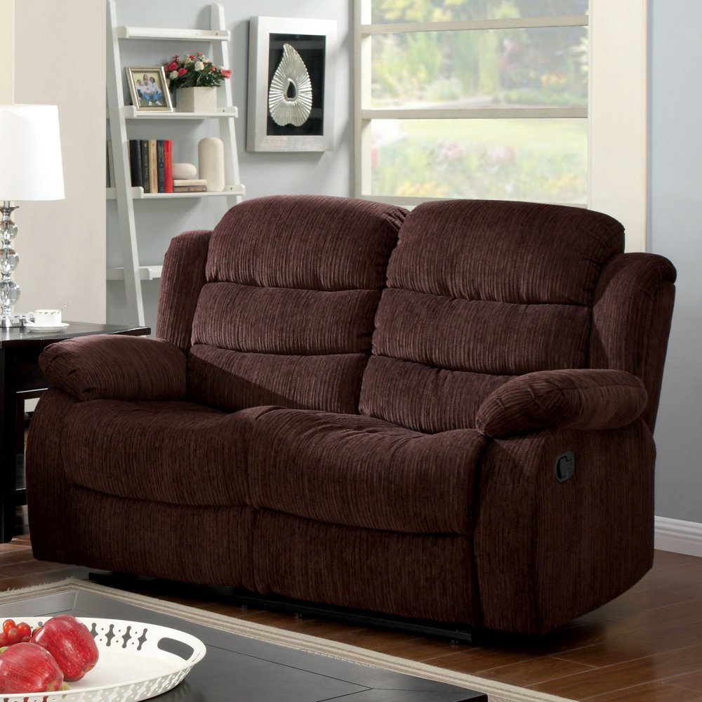 Furniture of America Bristow Recliner Loveseat