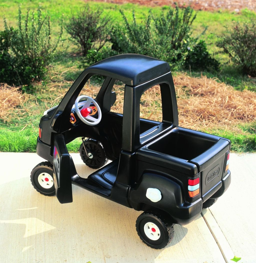 An Image of Little Tikes Black Pick Up Truck