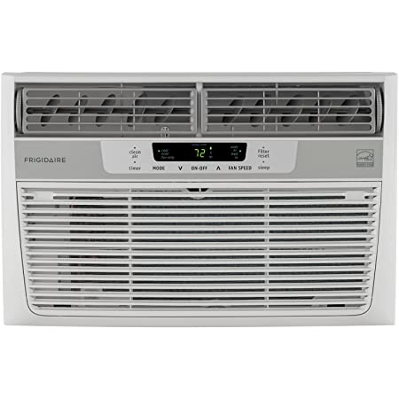 Frigidaire Energy Star 8,000 BTU 115V Window-Mounted Mini-Compact Air Conditioner FFRE0833Q1
