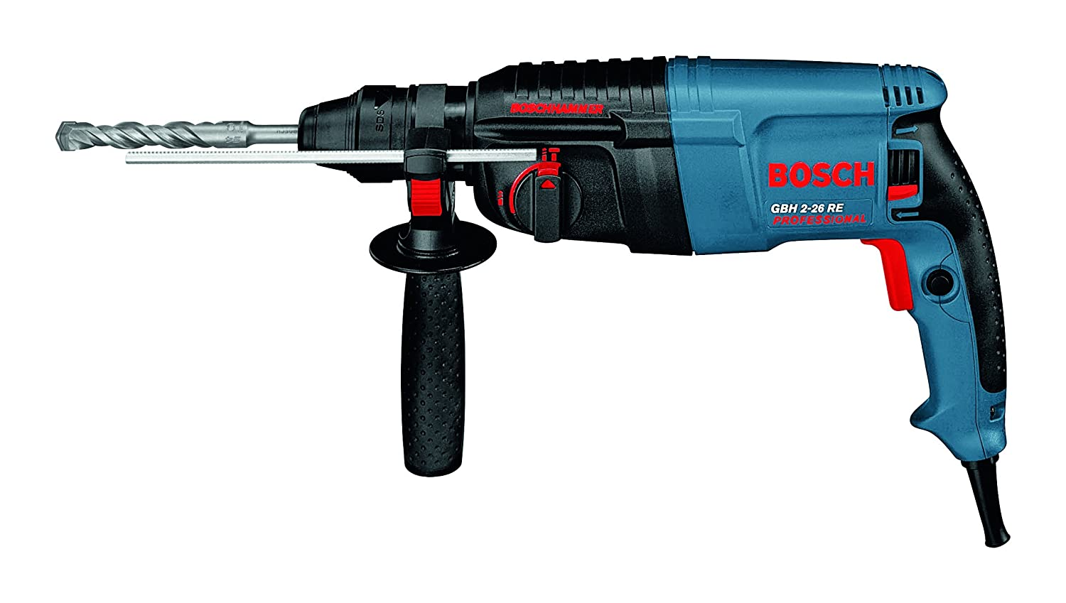 bosch gbh 2 22 re rotary hammer 22mm sds plus. Black Bedroom Furniture Sets. Home Design Ideas