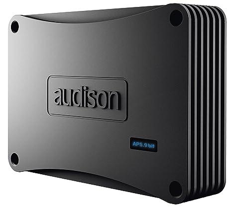 Audison AP 5.9 bit Amplificateur 5 canaux avec DSP 2 x 35 + 2 x 85 + 1 x 240 W