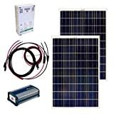 Grape Solar GS-200-KIT 200-Watt Off-Grid Solar Panel Kit
