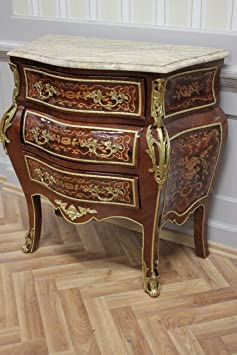 Baroque chest of drawers antique style Louis xv MkKm0004SbBg