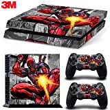 ZOOMHITSKINS Ps4 Console Skin Decal Sticker SuperHero + 2 Controller Skins Set - PlayStation 4 Vinyl
