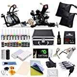 Complete Tattoo Starter Kit 2 Guns Supply Set Equipment D10-24