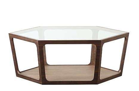 Abbyson Living Newbury Coffee Table, Walnut