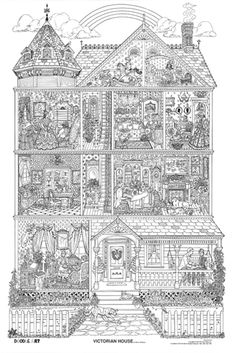 victoriantoys free colouring pages