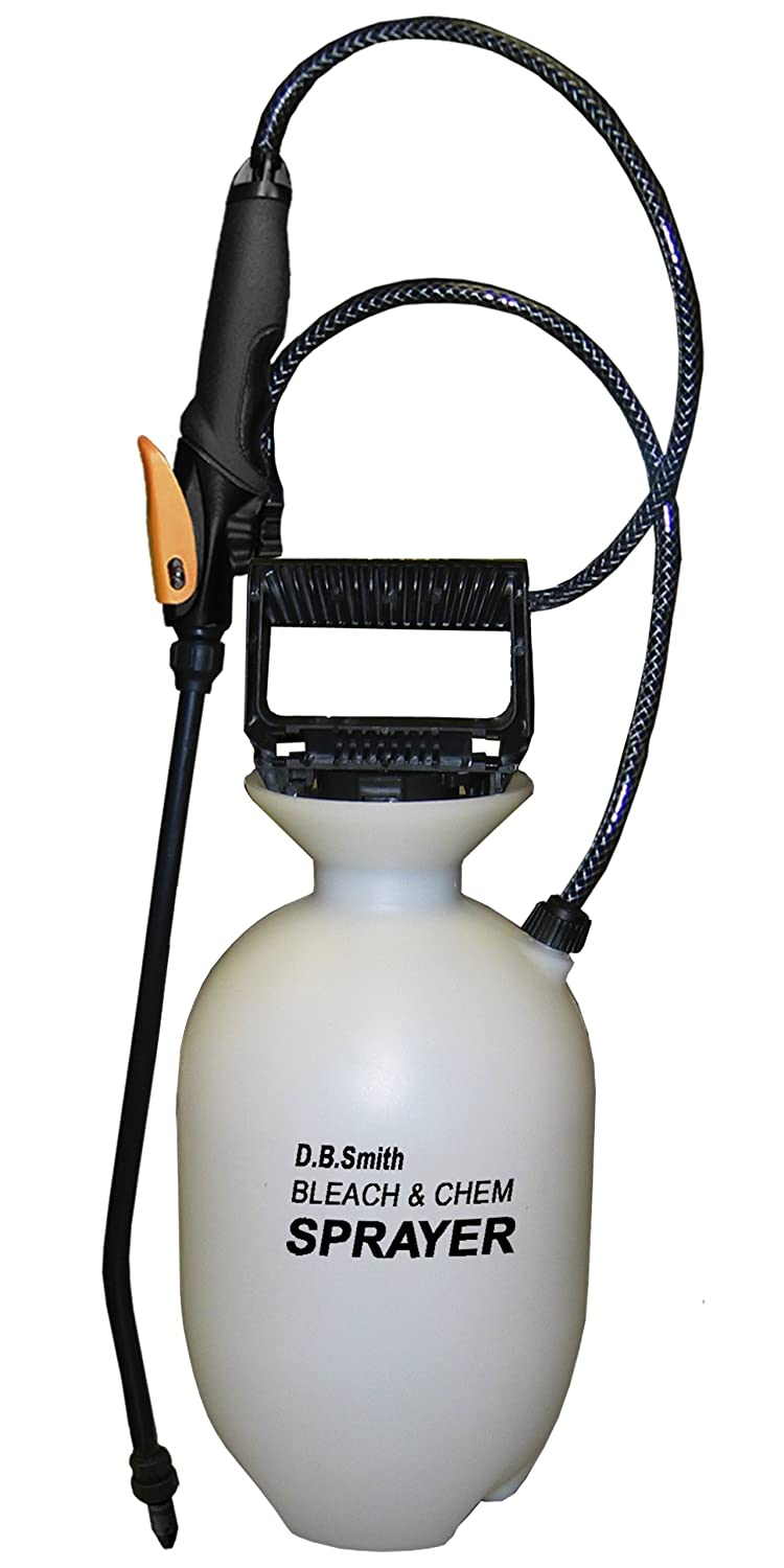 Smith 190285 1-Gallon Bleach &#038; Chemical Sprayer With Non-Corrosive 14-Inch Wand and Single Nozzle System $14.94