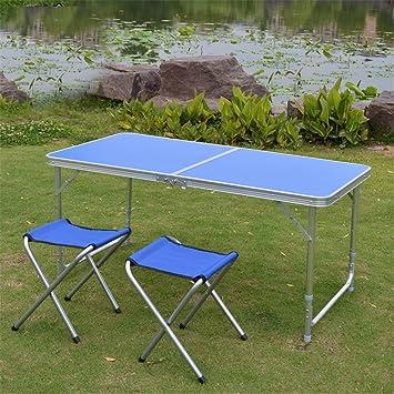MONEYY Piscina sillas plegables y mesas y sillas sus puestos _ tabla resumen del paquete plegado desk oficina de formación de la industria de exposiciones 120*60* 55/62/70cm de alto.