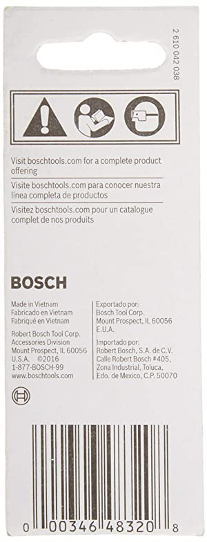 Bosch ITBHQC201 2 In. Impact Tough Quick Change Bit Holder